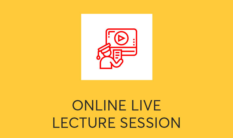 Online Live Lecture Session
